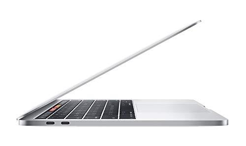 "Apple 13.3"" MacBook Pro w/Touch Bar (Mid 2019), Intel Core i5-8279U 2.4GHz, 512GB PCI-E SSD, 8GB DDR3, 802.11ac, Silver (Renewed)"