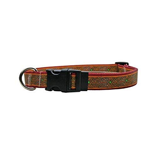 Celtic Dog Collar - Size Medium 14' to 20' Long - Made In The USA