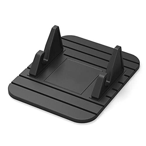 USNASLM Auto Interior Coche GPS Silicona antideslizante Mat Soporte de escritorio Soporte de teléfono móvil Soporte para iPhone, para Samsung Car Accesorios