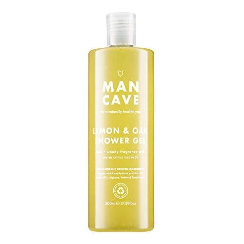 ManCave Duschgel Zitrone und Eiche