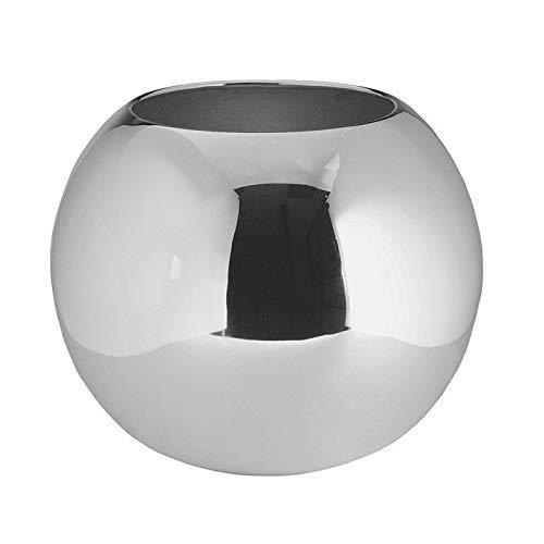 Fink Moon Vase,versilbert H.13cm,D.16cm