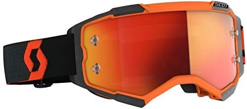 Scott Fury MX Goggle Cross/MTB Brille orange/schwarz/orange Chrom Works