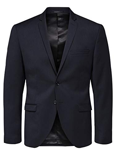SELECTED HOMME Male Blazer Slim Fit 48Navy Blazer