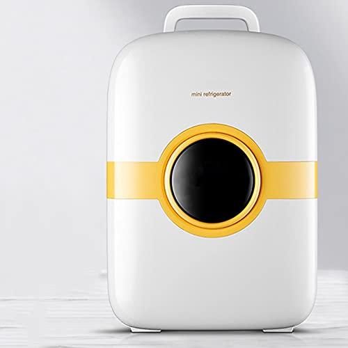 Refrigerador Pequeño PortátilMini Nevera para Enfriar Y Calentar, Mini Refrigerador Portátil para Coche Y Casa, Mini Nevera Portátil para El Skincare Latas De (Style : Dual-Core)