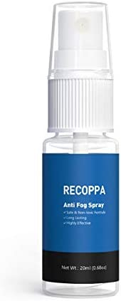 Recoppa Anti Fog Spray for Glasses Mirrors Windows Safety Glasses Swim Goggles Eyeglass Lens product image