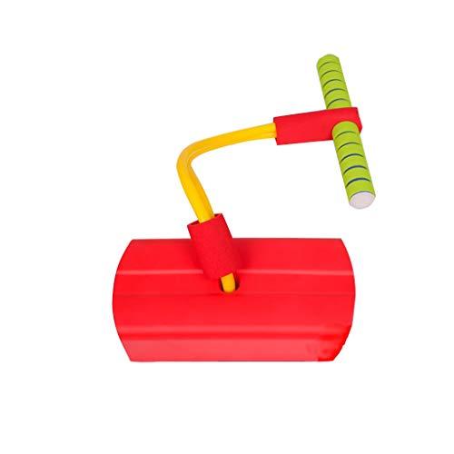 WENJIA Pogo Sticks Pogo Sticks La Espuma De Pogo Puente Agarre Superior Asas Suaves,para Todos Los Tamaños Son Su Mejor Opción De Regalo,Regalo para Un Niño Diversión Sin Fin (Color : Red)