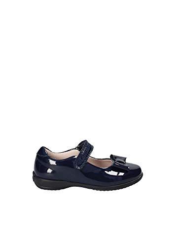 Lelli Kelly Perrie Bébés Filles en Cuir Mary Jane Chaussures D'école Junior 1/33 F Navy Patent