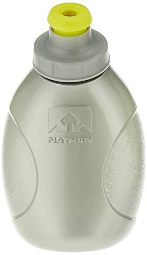 Nathan Sports Unisex Push-Pull-Cap Fläschchen (2Stück), Silber, 10oz/300ml