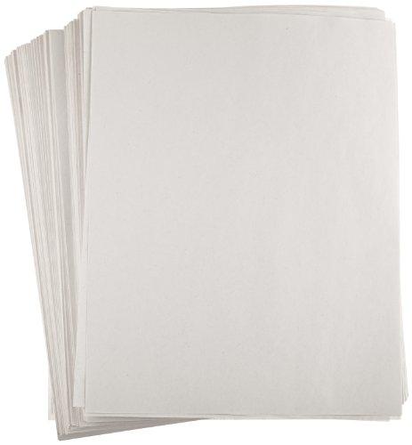 School Smart - 85250 Newsprint Drawing Paper, 30 lb, 8-1/2 x 11 Inches, 500 Sheets