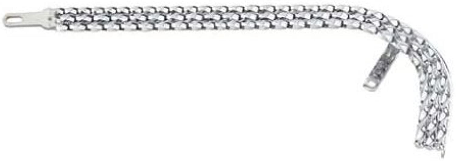 Triple Square Twisted Chain Guard Chrome. bicycle part, bike part, for 20  lowrider chain guard