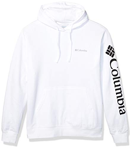 Columbia Men's Viewmont II Sleeve Graphic Hoodie Sweater, -white, X-Large