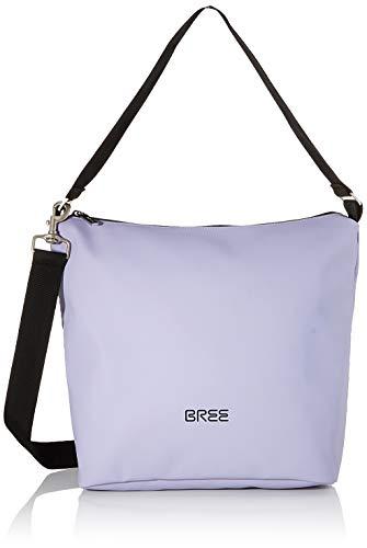 BREE Unisex-Erwachsene PNCH 701 Cross Shoulder Bag S Umhängetasche, Violett (Lavender), 12x30.5x30 cm
