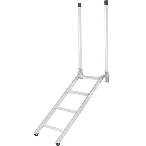 "Discount Ramps 48"" Transport Truck Step Deck Ladder for 28"" to 42"" Trailer Bed"