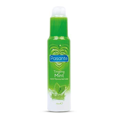Pasante Tingling Mint Lube 75ml Gleitgel - prickelnder Minz-Geschmack - lange gleitfähig - nicht klebend - parabenfrei - kondomfreundlich