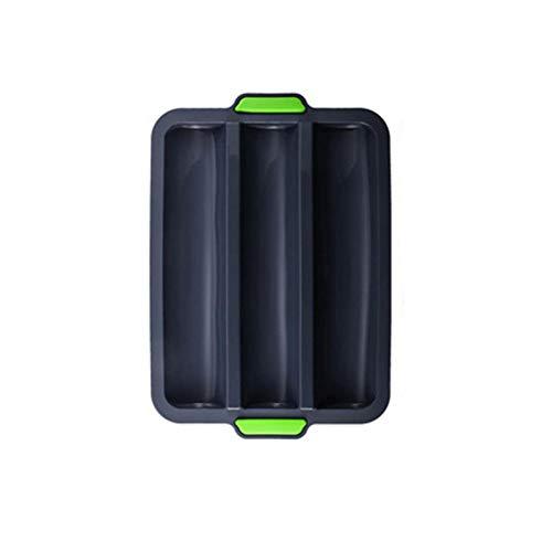 UKKD 3 Gitter Silikon Baguette Tablett...