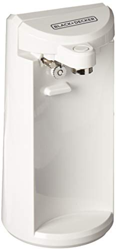 Black & Decker White Electric Can Opener