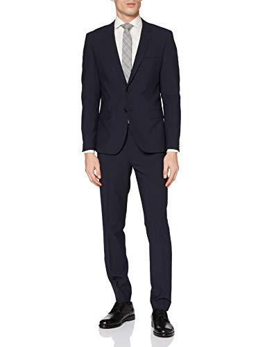 HUGO Mens Arti/Hesten204X Suit - Dress Set, Dark Blue (405), 52