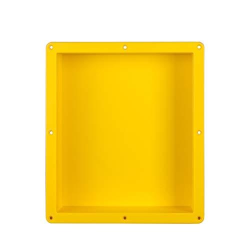 Uni-Green Shower Niche Ready Tile Rectangle 16' ×14' × 4'D Flush Mount Bathroom Shelf and Storage Niche, Insert Shower Shelf To be Tileable