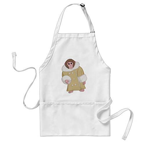 Tr73ans Darwin de Ikea aap volwassen Gift Bakers schort keuken schort Womens schort wijn liefhebber grappige schort Housewarming Gift