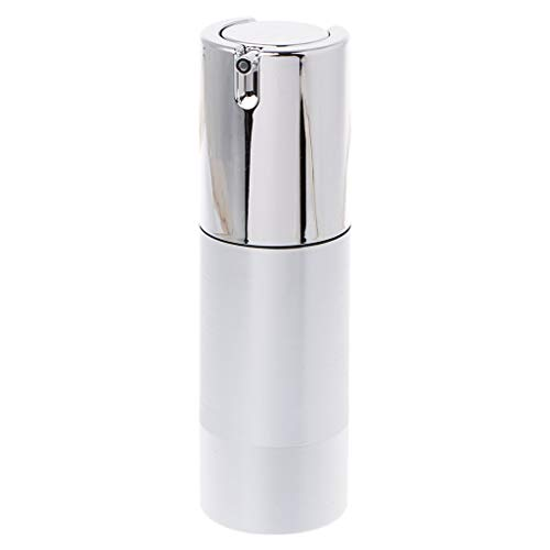 holilest Bottling, Empty Airless Bottle Cosmetic Plastic Pump Container Travel Tool 15 30 50ml-2