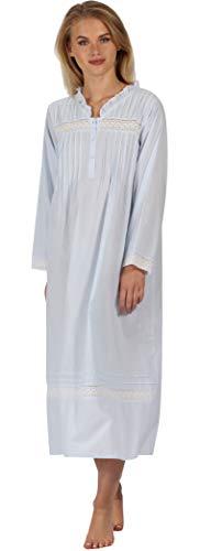 The 1 for U 100% Baumwolle Nachthemd - Annabelle S - XXXXL - Blau, M