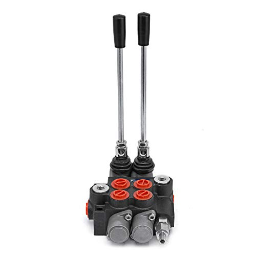 Mophorn Hydraulic Valve 2 Spool Hydraulic Directional Control Valve 11gpm Double Acting Cylinder Spool