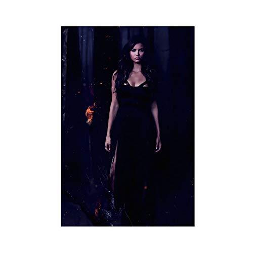 Poster del film The Vampire Diaries, poster retrò su tela, decorazione per camera da letto, sport, paesaggio, ufficio, decorazione per la stanza, 40 x 60 cm