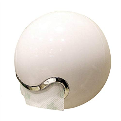 Preisvergleich Produktbild YSYDE Creative Bad Toilettenpapier Roll Holders Tissue Dispenser ABS Plastic Waterproof Ball Shape Handschuh Towel Box Toilettenpapierhalter Case Selbstanpassung und Bohrung