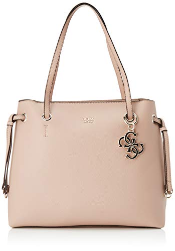 Guess Digital Charm Logo Shopper, Bolso de mano para Mujer, rosa Cipria,...