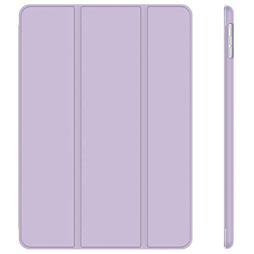 JETech Hülle Kompatibel iPad Air (2013 Modell), Schutzhülle mit Ständer Funktion & Auto Schlaf/Wachen, Helles Lila
