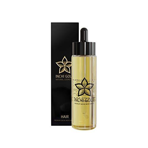 Sacha Inchi Haaröl (50 ml) – Silikonfreie Haarpflege mit 50% Sacha Inchi Öl für Griff und Glanz. Besonders geeignet für widerspenstiges und trockenes Haar. Vegane...