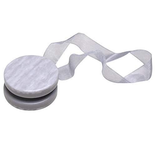 KeKeandYaoYao Magnetische Gordijn Riem Haak Gesp Houder Lint Drape Tieback Touw Home Decor - Donker Grijs