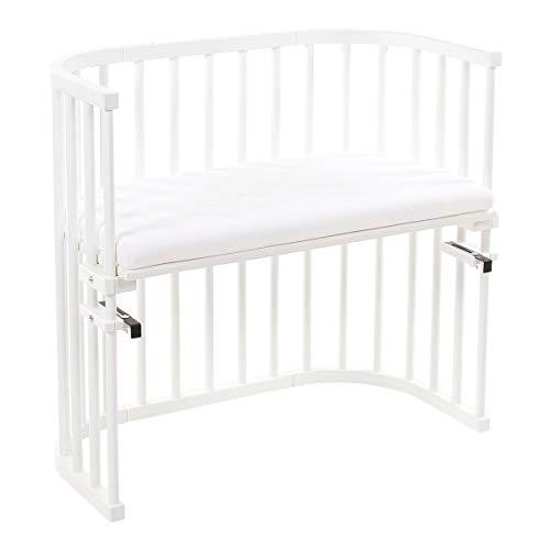 babybay® Lit cododo Original avec matelas Classic Soft lit bébé, peint en blanc