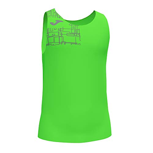 Joma Camiseta Tirantes Elite VIII Verde flúor