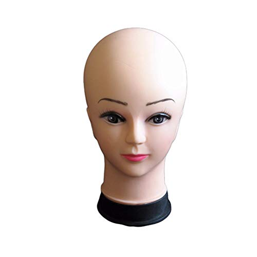 LYsng Profesional Cabeza De Maniqui Suave Cabeza Maniqui Profesional Maniqui Cabeza para Maquillaje Entrenamiento De Masaje Práctica Fabricación De Pelucas Sombreros Barbería