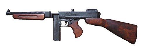 Denix Replica Kavallerie Thompson M1A1 mit Stabmagazin Mafia Maschinengewehr USA 1928