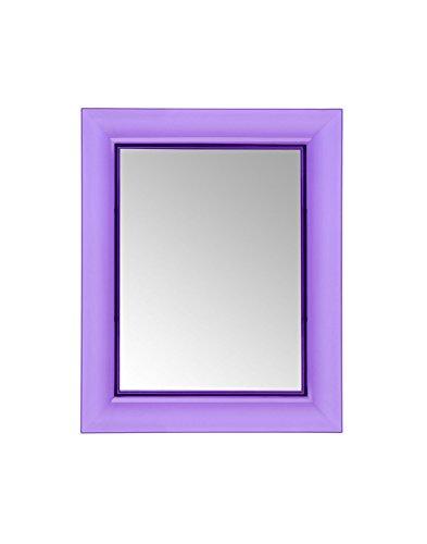 Kartell Francois Ghost, Miroirs Muraux, 65 X 79cm, Violet
