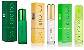 Milton Lloyd Colour Me Set For MEN (HOMME GOLD+ HOMME VOLT+HOMME GREEN) 50 ML