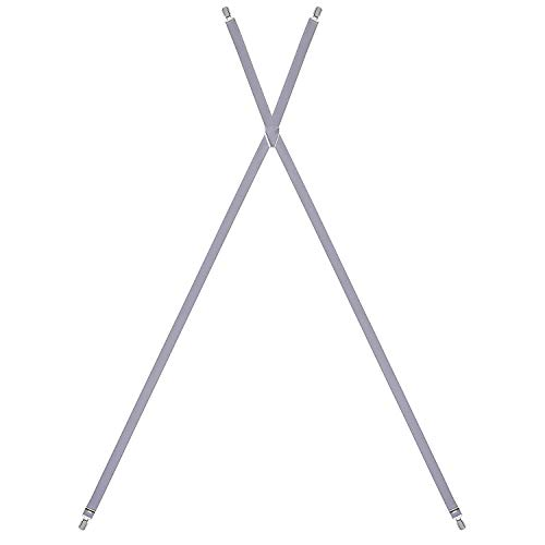 LLOYD Hosenträger Herrenhosenträger Grau 7468, Farbe:Grau, Länge Hosenträger:120 cm