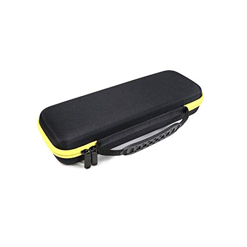 Bolsa de almacenamiento portátil de tela EVA + Oxford, adecuada para Fluke T5-1000 / T5-600EVA (negro / amarillo) Bolsa de herramientas portátil con cremallera rectangular de 11,8 pulgadas