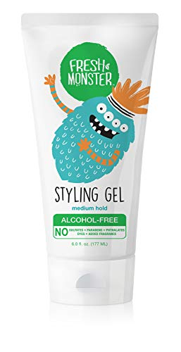 Fresh Monster Kids Styling Gel, Medium Hold