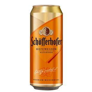 Schöfferhofer Hefeweizen, 24er Pack (24 x 0.5 l) EINWEG