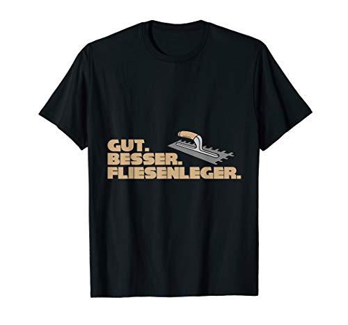 Bester Spruch Fliesenleger Geschenk T-Shirt T-Shirt