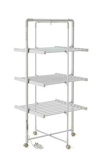 Easy Life Heated Airer with timer - XL size   Strong & Sturdy Clothes...
