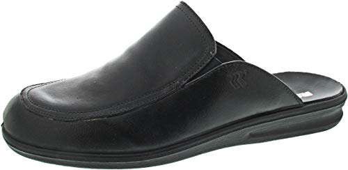 Romika Herren Präsident 20 Pantoffeln, Schwarz (Schwarz 100), 43 EU