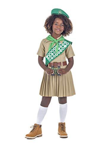 Banyant Toys Disfraz Boy Scout Niña 10-12 años