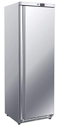 Kühlschrank - 400 Liter - mit 1 Volltür Edelstahl Gastro Lagerkühlschrank