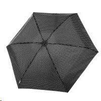 Tamaris Tambrella Mini 6 – Paraguas pequeño – Muy ligero con fibra de vidrio – Puntos – Cabe en cualquier bolso – Negro
