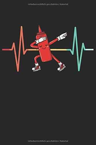 Dabbing Ketchup Notizbuch: Dabbing Ketchup Notizbuch für Tomaten Soße Liebhaber / Notizheft / Notizblock A5 (6x9in) Dotted Notebook / Punkteraster / 120 gepunktete Seiten