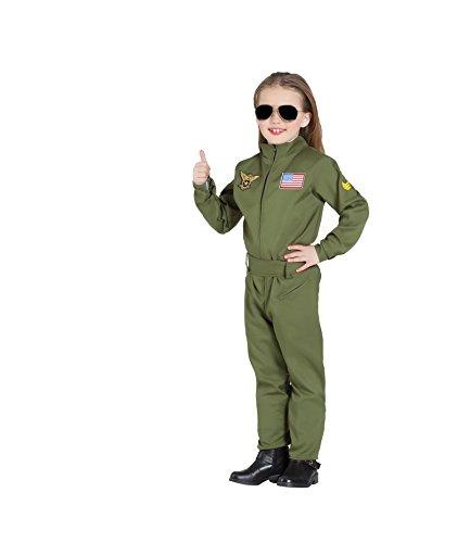 Banyant Toys, S.L. Disfraz DE PILOTO Avion DE Combate Unisex